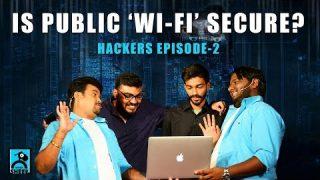 Is Public WI-FI Secure | Hackers Epi-2 | Chutti & Vicky Show | Black Sheep